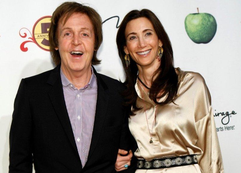 Paulas McCartney ir Nancy Shevell