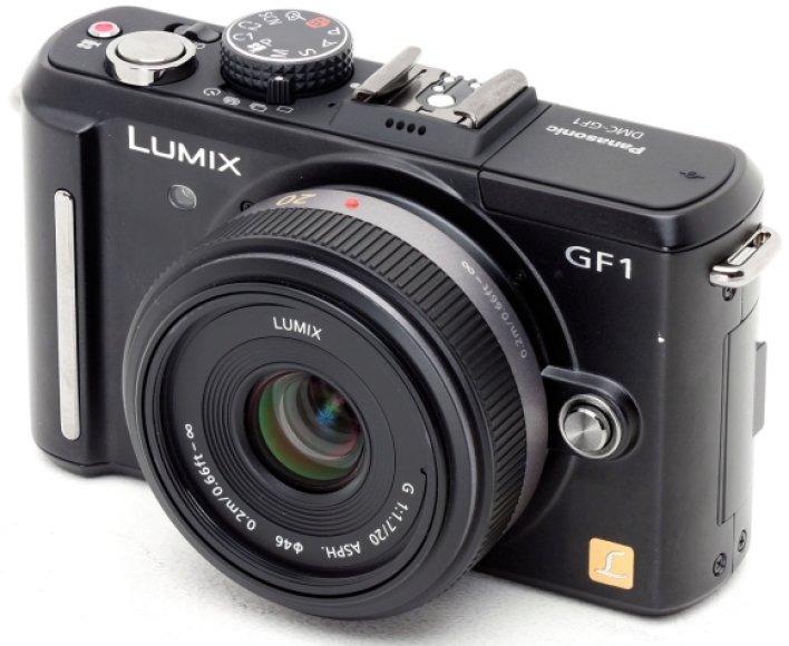 """Panasonic Lumix GF1"""
