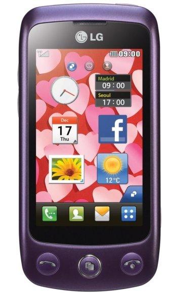 "Mobilusis telefonas ""LG GS500""."