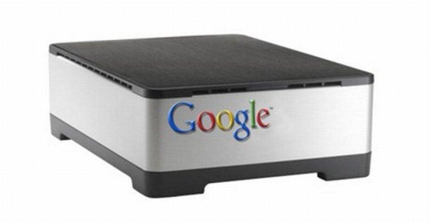 """Taip galėtų atrodyti """"Google TV"""" priedėlis."""