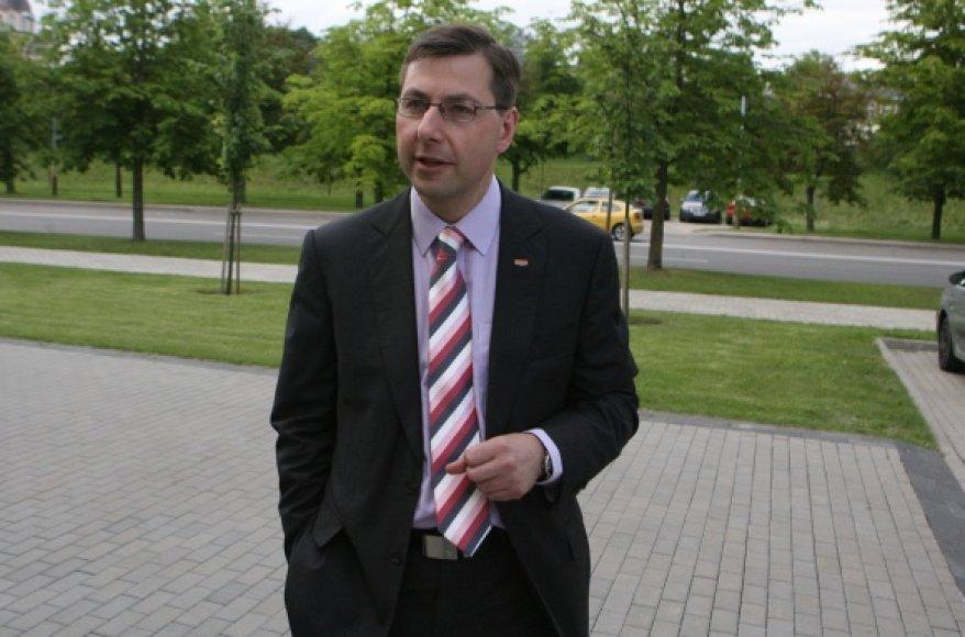 Švietimo ir mokslo ministras Gintaras Steponavičius.
