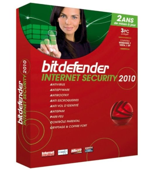 "Antivirusinė programa ""BitDefender Internet Security 2010""."
