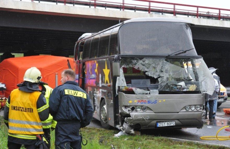 Lenkų turistus gabenęs autobusas po kelionės Ispanijoje važiavo namo.