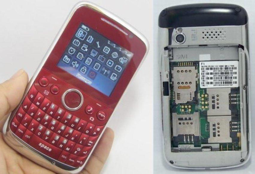 "Išmanusis telefonas ""OTech F1""."