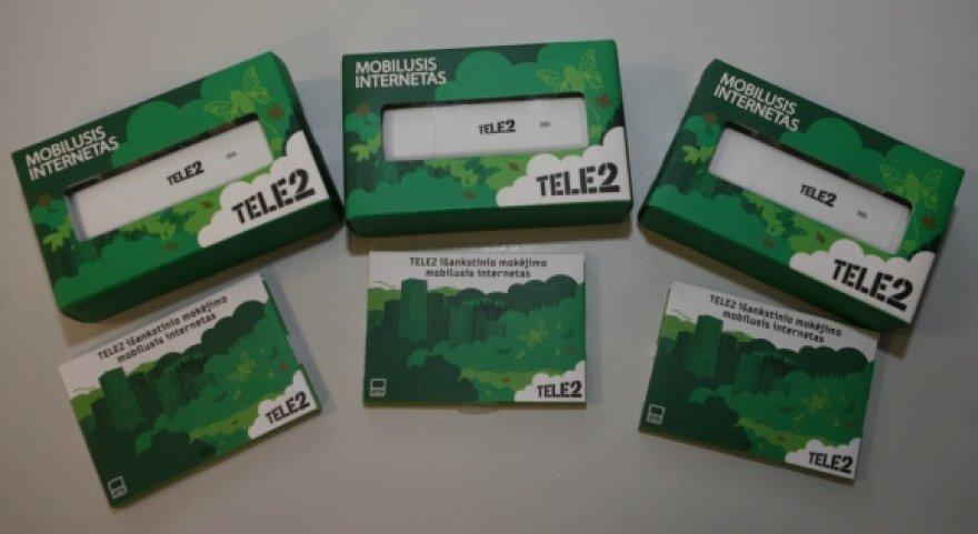 """Tele2"" mobiliojo interneto modemai."