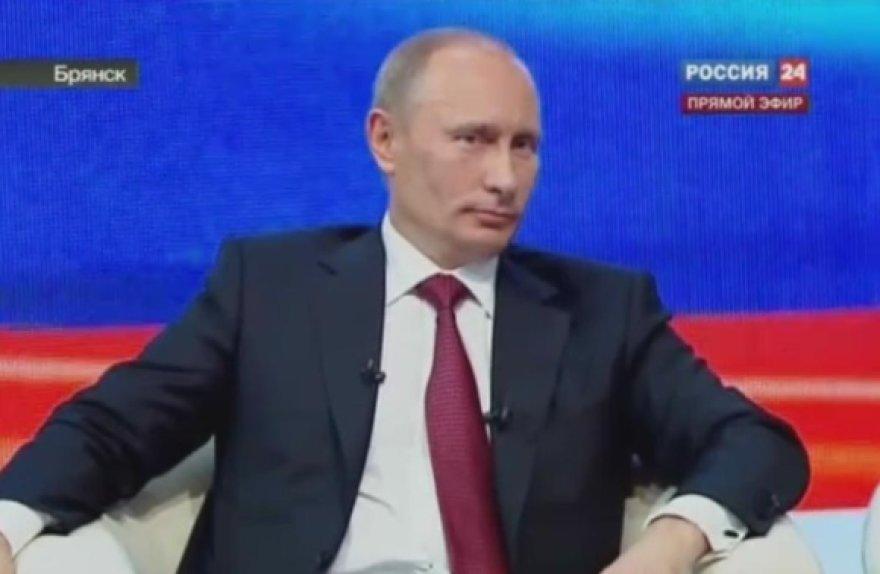 Rusijos premjerą Vladimirą Putiną nustebino klausimas apie teisėsaugos institucijų pavadinimų sutrumpinimus.