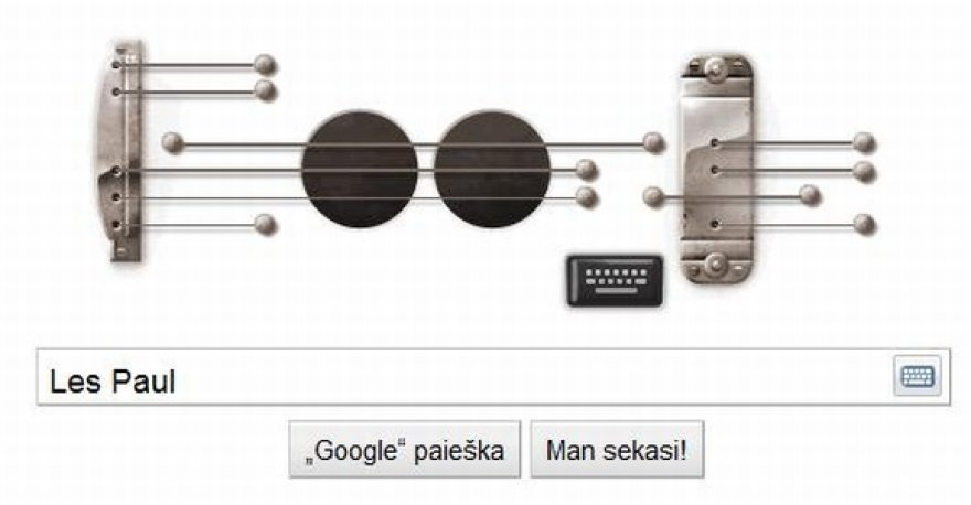 """""""Google"""" logotipu galima groti."""