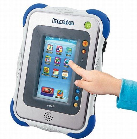 """Vaikams skirtas planšetinis kompiuteris """"InnoTab""""."""