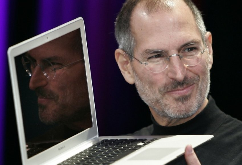 Steve'as Jobsas yra reiklus ne tik kitiems, bet ir sau.