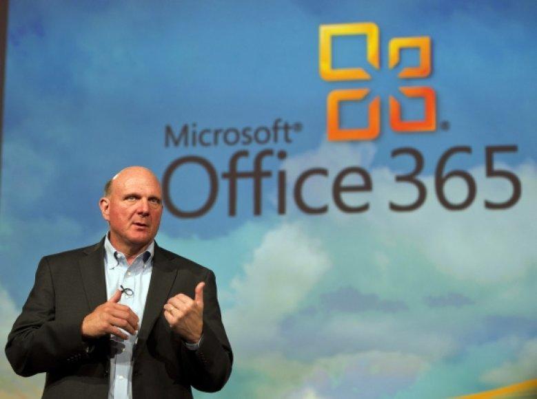 """Tarp """"nulūžusių"""" paslaugų – virtualus biuro programų paketas """"Office 365""""."""