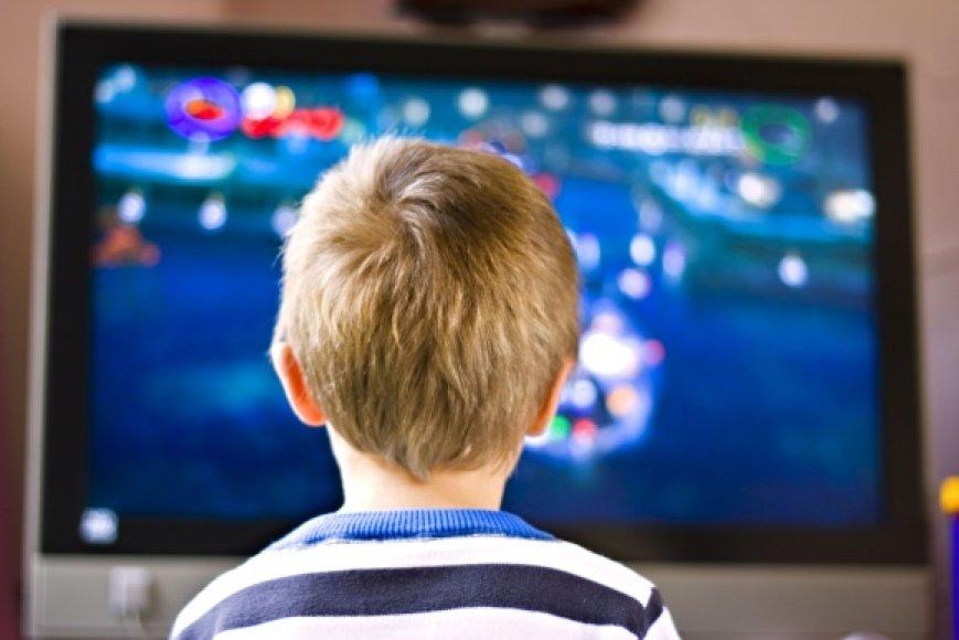 JAV pediatrų akademija rekomenduoja vaikams iki 2 metų visiškai neleisti žiūrėti televizoriaus, o nuo 4 iki 12 metų – ne daugiau nei 1,5 val. per dieną.