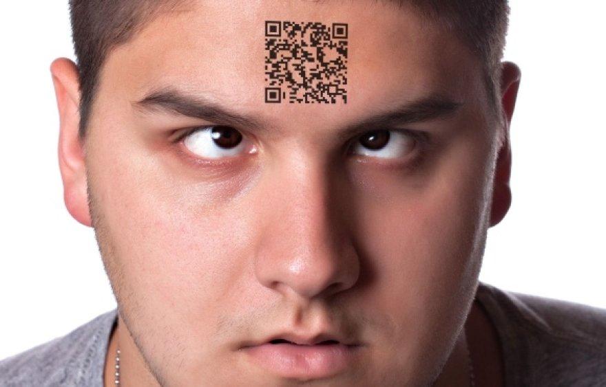 QR kodo panaudojimą riboja tik fantazija.