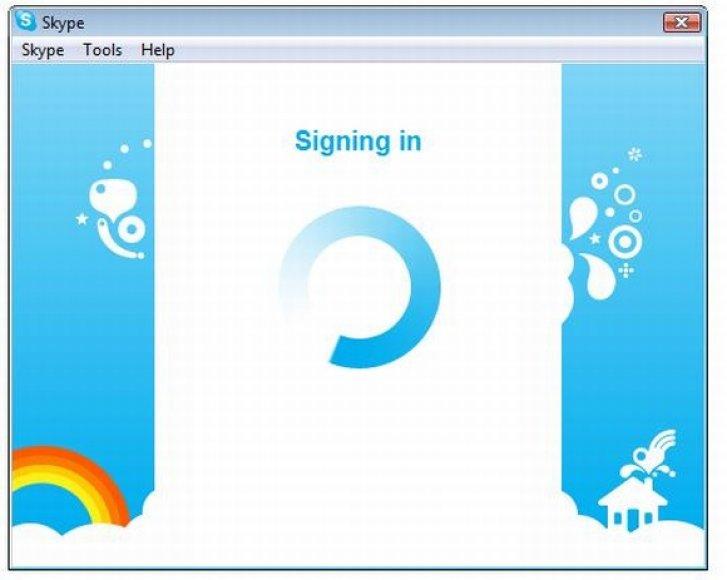 """""""Skype"""" vartotojams nepavyksta prisijungti prie tinklo."""