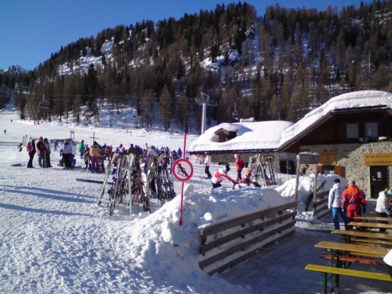 Marillevos slidinėjimo centras.