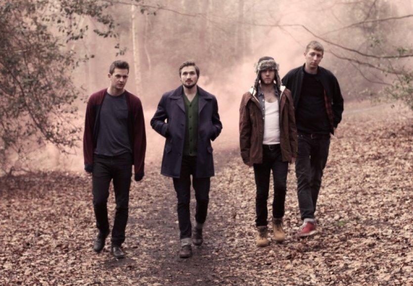 """Britų indie roko grupė """"Wild Beasts"""""""