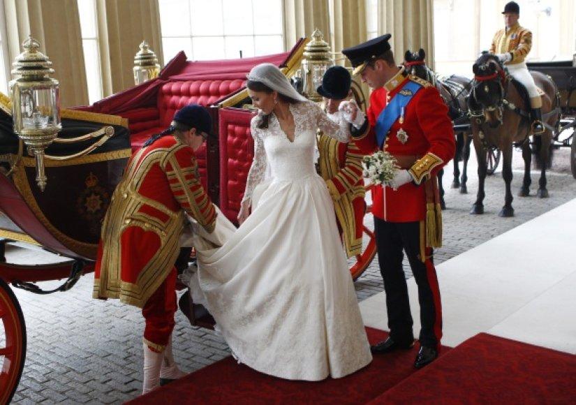 Princo Williamo ir Kate Middleton karališkos vestuvės įvyko balandžio 29 dieną.