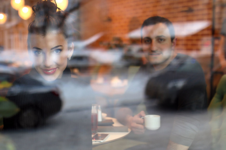 Vida Press nuotr./Pora kavinėje