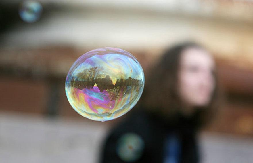 Burbulų pūtimo akcija