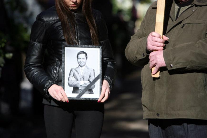 Aurimo Dautarto laidotuvėse