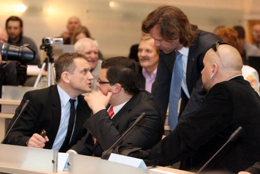 Tarybos posėdyje