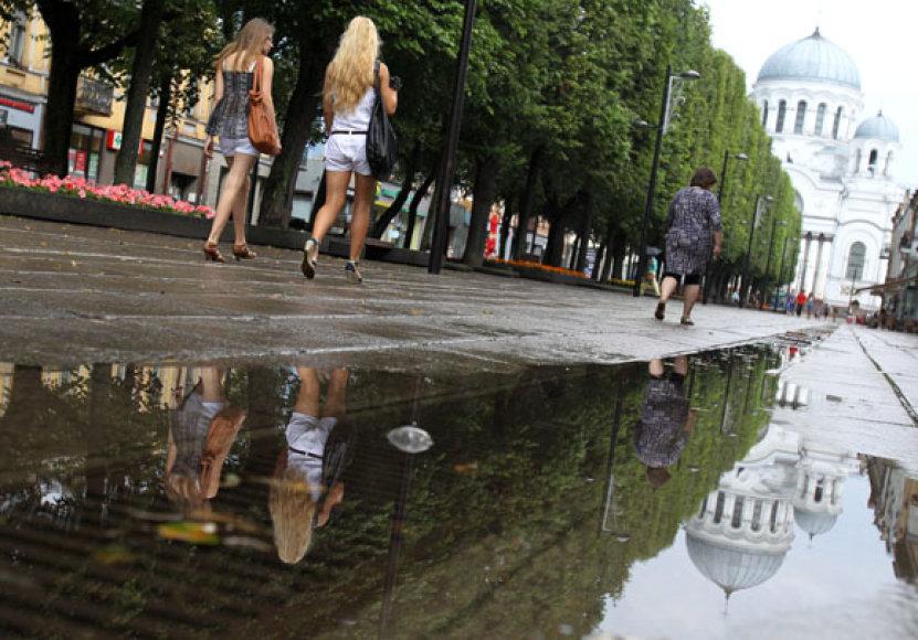 Miestas po lietaus