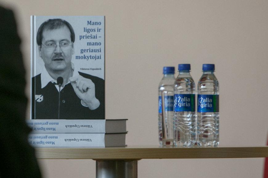 Eriko Ovčarenko / 15min nuotr./Viktoro Uspaskicho knygos pristatymas
