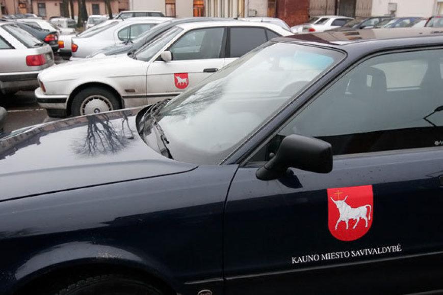 Kauno savivaldybės automobiliai.