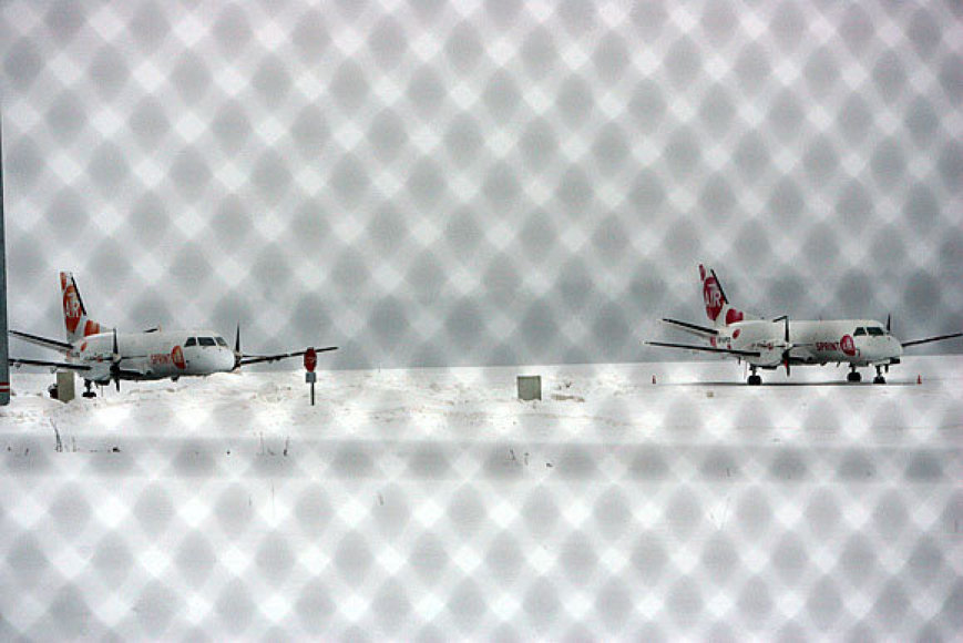 Kauno oro uostas antradienio rytą dirbo be trukdžių