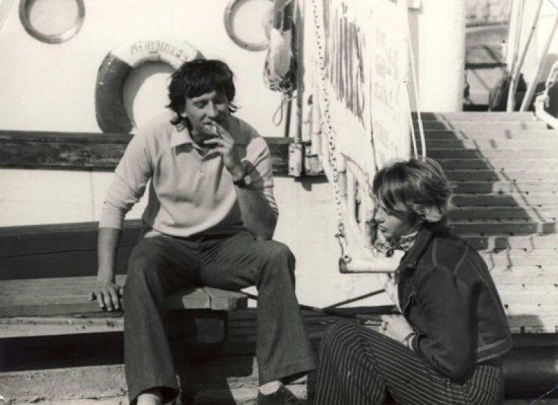 Aktoriai jaunystėje