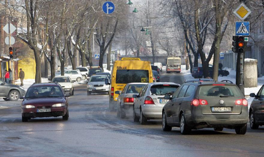 Gatvės virto čiuožykla