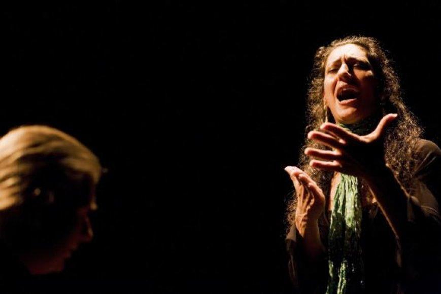Flamenko dainininkė C.Fernandez