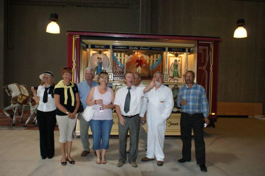 Lenkų delegavija kauniečiams pasiūlė bendradarbiauti, rengiant įvairius senovinio transporto renginius