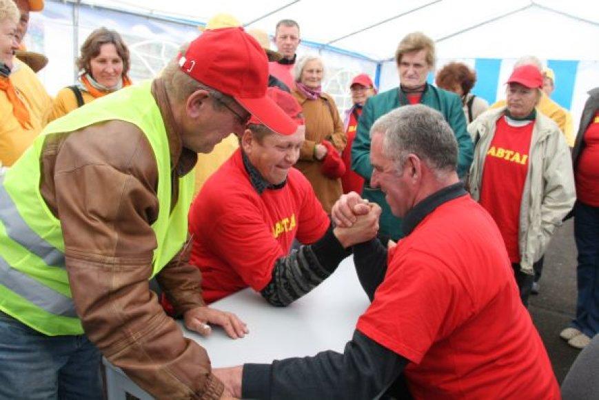 Neįgaliųjų šventė šiemet vyko Kauno rajono Socialinių paslaugų centre.