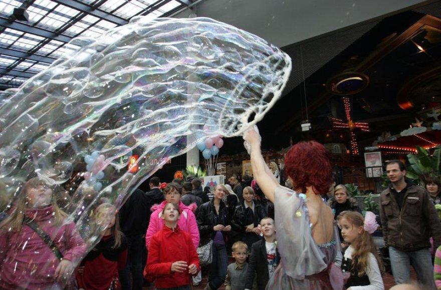 Kaune išpūstas didžiausias muilo burbulas