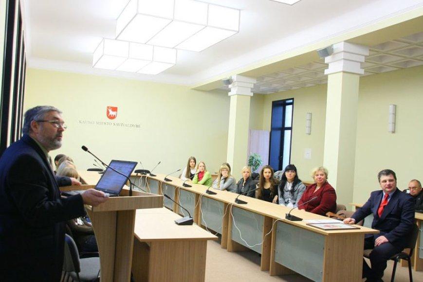 KTU studentai Kauno miesto savivaldybėje