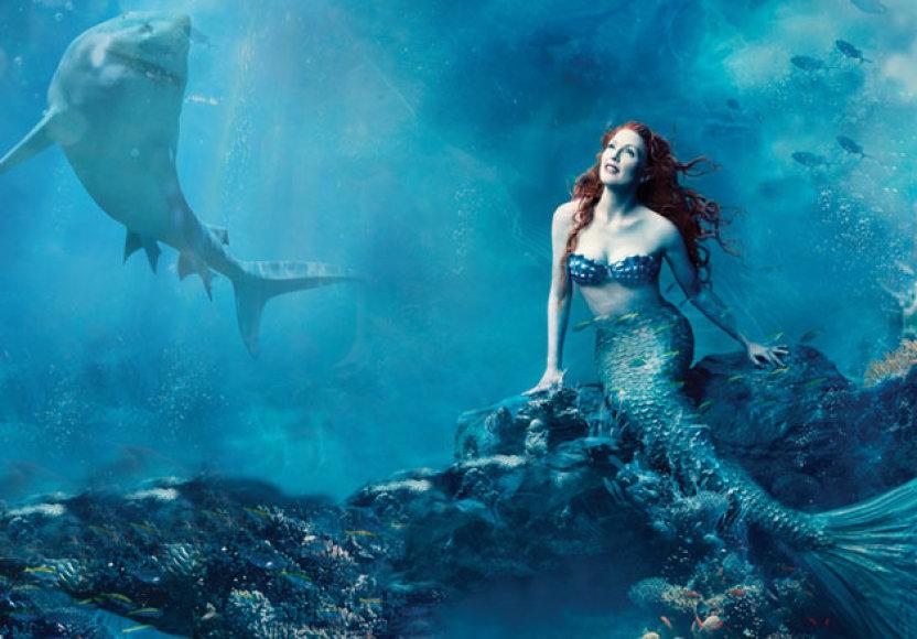 Akvariume bus atkurta undinėlės istorija, kurią nufotografuos povandeninės fotografijos profesionalai.