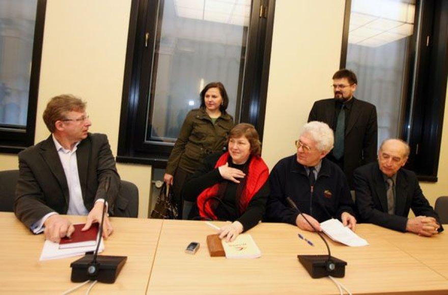 Pirmasis komisijos dėl pastato Laisvės alėja 90 rekonstrukcijos posėdis įvyko penktadienį.