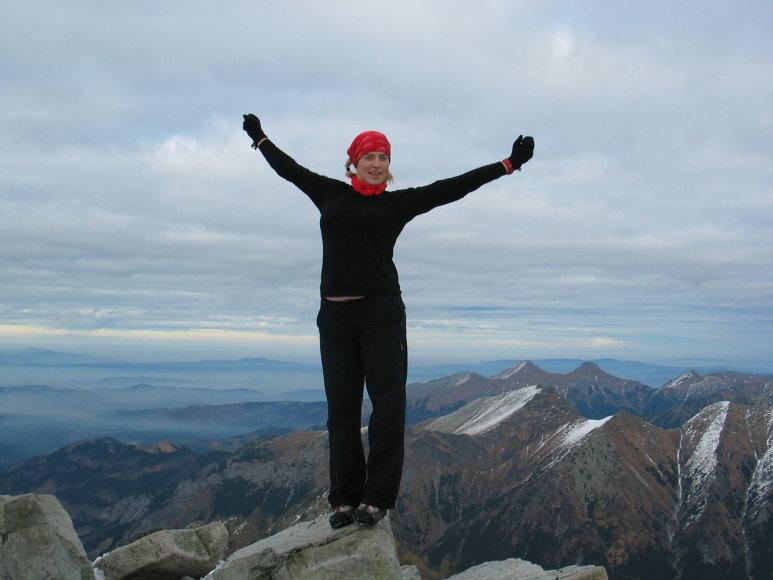 Asmeninė nuotr./Rysy (2500 m)