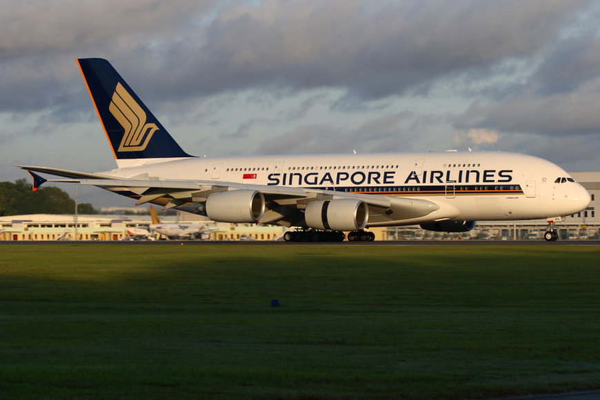 """""""Singapore Airlines"""" orlaivis"""