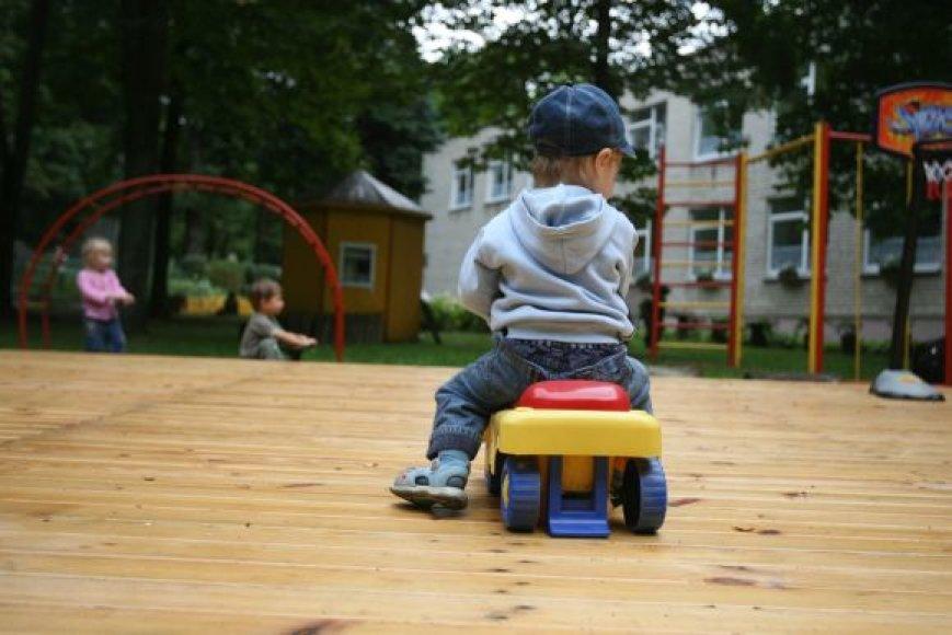 Nuo rugsėjo didėsiantis pridėtinės vertės mokestis neturės įtakos vaiko išlaikymui ikimokyklinėje ugdymo įstaigoje: mėnesis darželyje kaip ir iki šiol kainuos apie 150 Lt.