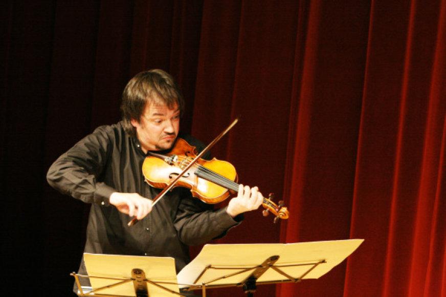 S.Krylovas laikomas vienu geriausiu smuikininku pasaulyje.