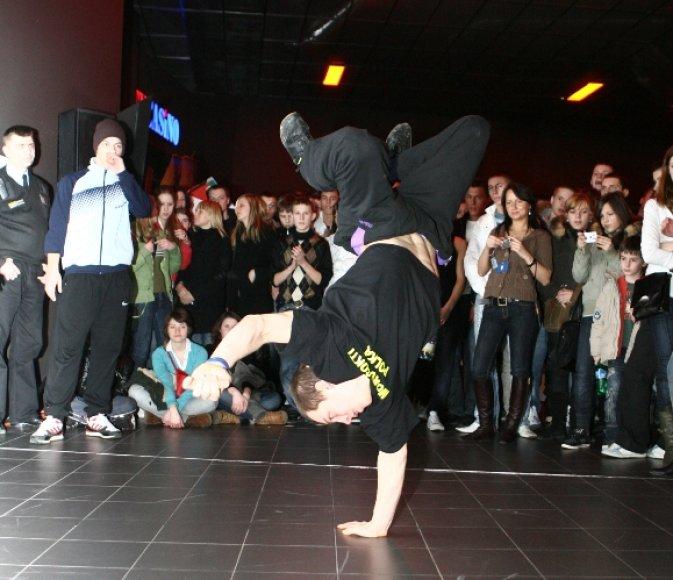 Šeštadienį Klaipėdoje rungsis breiko ir hiphopo šokėjai.