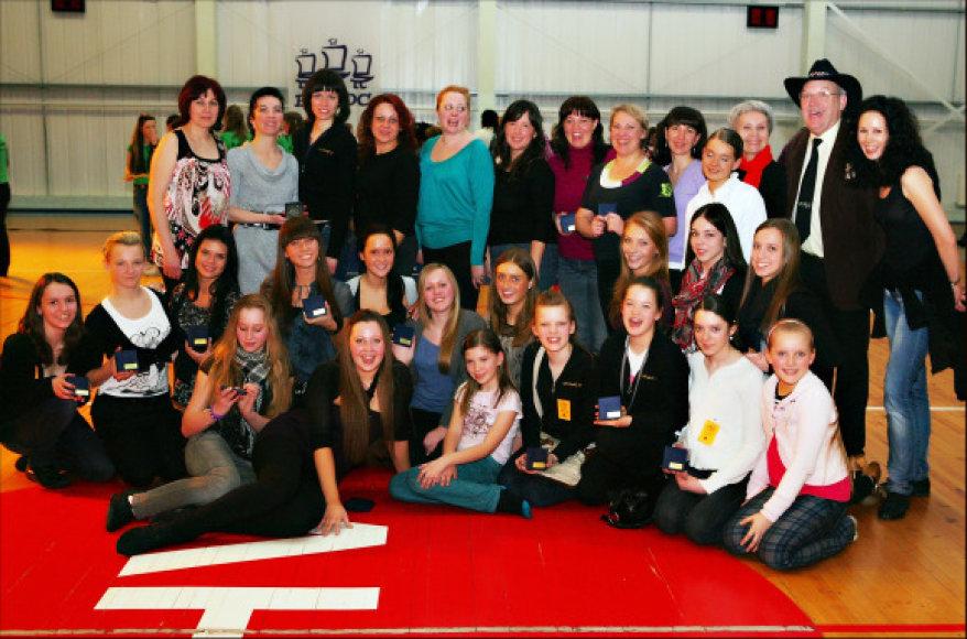 Linijinių šokių čempionate puikiai sekėsi lietuviams.
