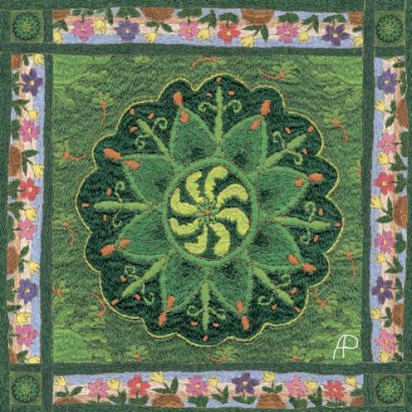 A.Rudnyckaja sukūrė savitą siuvinėjimo stilių.