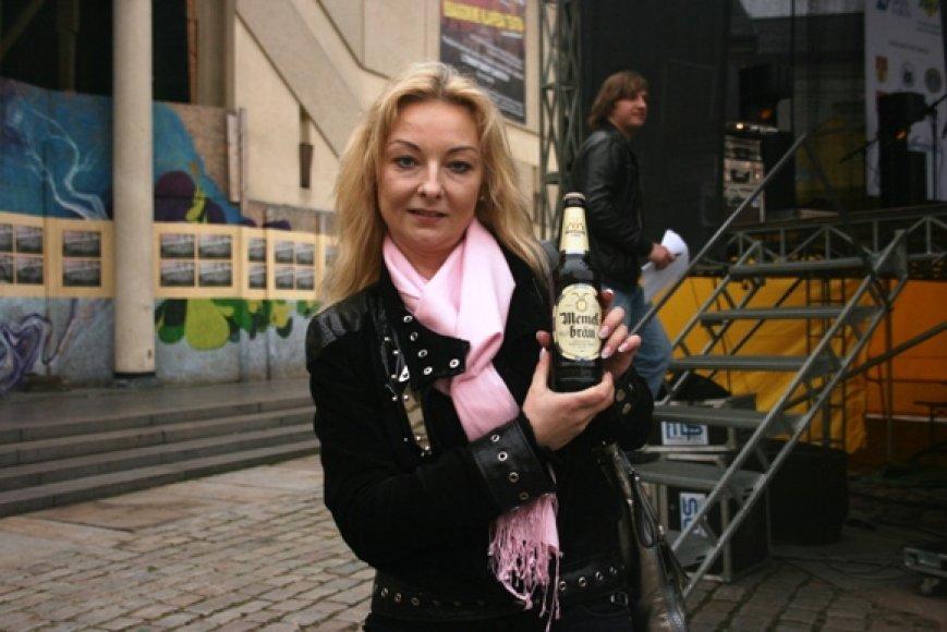 Klaipėdietė Kristina naująjį alų įsigijo aukcione už 300 litų.