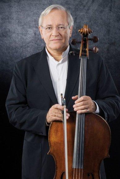 Violončelininkas D.Geringas Klaipėdos valstybiniame muzikiniame teatre surengs porą koncertų.