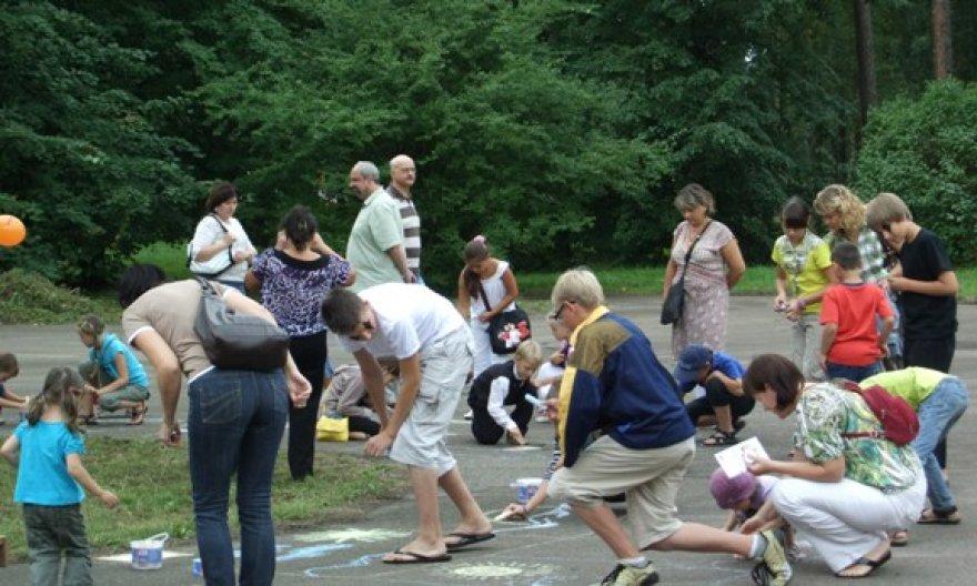 Ir per Jūros šventę bandyta atgaivinti senąjį Poilsio parką.