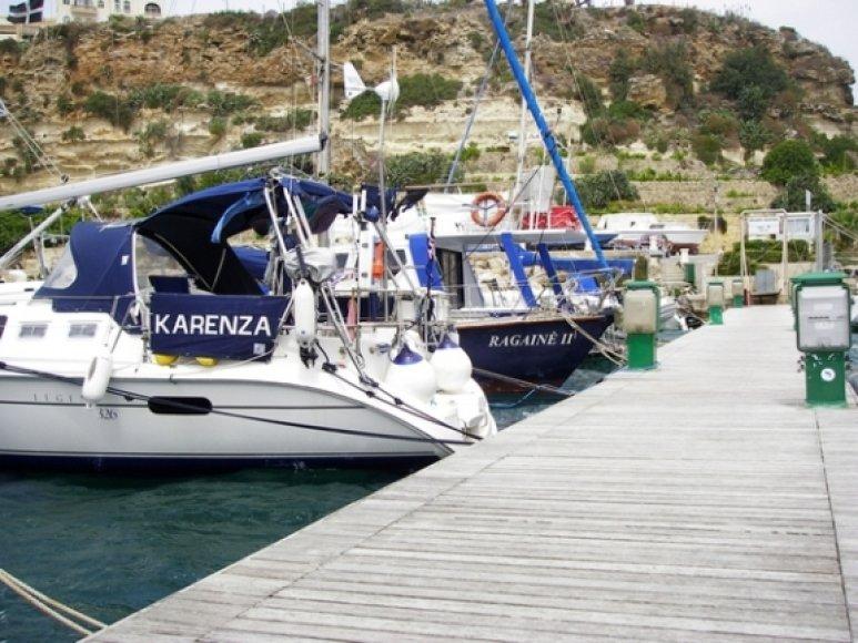 """Jachta """"Ragainė"""" Maltoje - finišas jau netoli."""