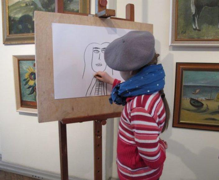 Pirmojoje P.Domšaičio popietėje vyks paskaita apie dailininką P.Domšaitį, kurio vardu ir pavadinta galerija.