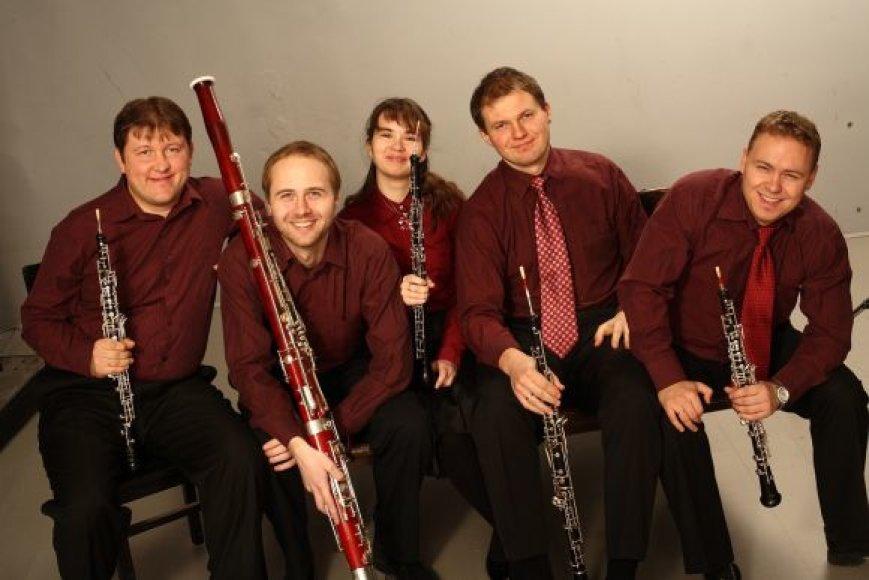 Obojų kvintetas penktadienį koncertuos klaipėdiečiams.